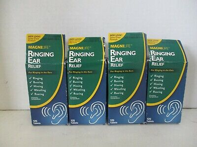 4 Magnilife Ringing Ear Relief Ringing/buzzing/hissing/roaring 125 Each Mn 164