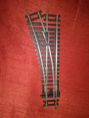 Hornby R8072 Left Hand Point - nickel silver - very good condition