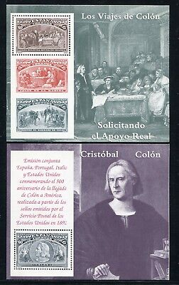 1992 Spain Scott #2677-82 Christopher Columbus S/S Set of 6 Mint Never Hinged