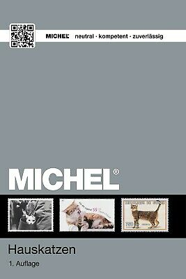 Michel Katalog Katzen Katten Cats Chats Gattos Gatos on stamps op postzegels
