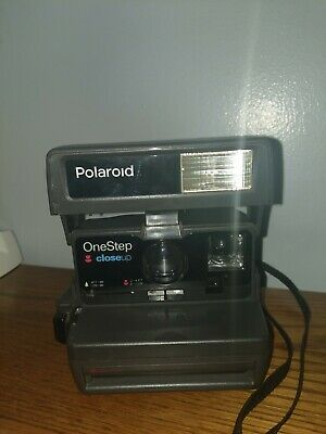 Polaroid One Step Close Up Instant Film Camera w/ Bag