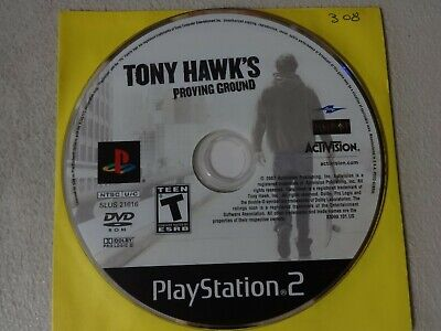 Tony Hawk's Proving Ground Sony Playstation 2 PS2 Game Disc Only Free Ship