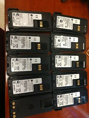 Lot of 10 - Motorola NNTN8129AR Battery for APX4000 XPR 7350 XPR 7550 XPR7000