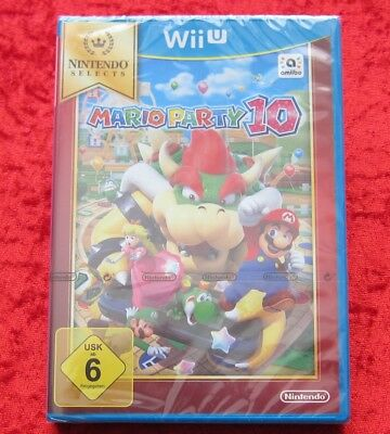 Mario Party 10 Wii U, Nintendo WiiU Selects Spiel, Neu, deutsche Version