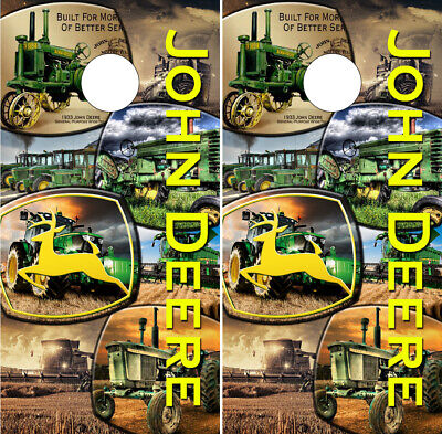 Amazing John Deere Cornhole Wraps Vinyl Boards Decals Bag Toss Game Spiritservingveterans Wood Chair Design Ideas Spiritservingveteransorg