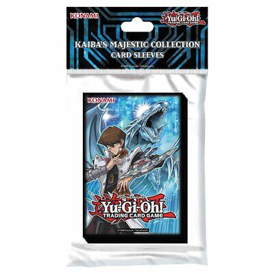Yu-Gi-Oh! 50 Protèges Cartes / Pochettes / Sleeves SMALL Kaiba's Collection
