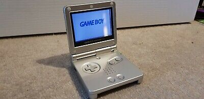 Game Boy Advance SP Silver. Perfect condition.