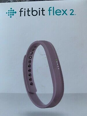 Fitbit Flex 2 Activity Tracker Lilac Purple Wristbands Necklace Waterproof Boxed