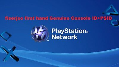 PS3 Console ID 100% Private Unban IDPS CID + PSID