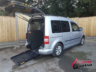2011 VW Caddy Diesel Automatic Drive From Wheelchair Disabled Accessible