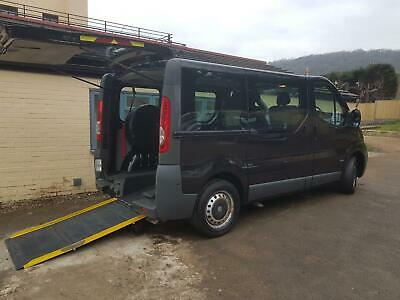 2012 Vauxhall Vivaro SWB Diesel Automatic Wheelchair Scooter Disabled Vehicle