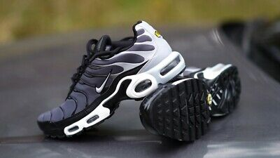 NIKE AIR MAX Plus Tn Tuned 1 Dark Grey Wolf Grey Black Mens