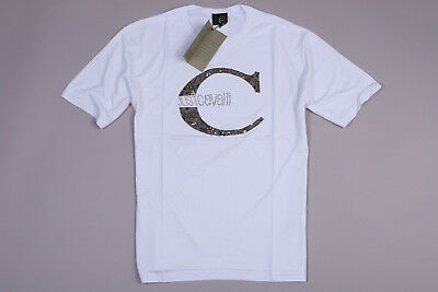 b8dfb5468 NEW JUST CAVALLI men's t-shirt top cotton size 56 ITALY - $99.99 ...