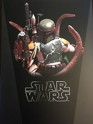 HOT TOYS STAR Wars Boba Fett Deluxe w/ Sarlacc Pit (MMS313), 1/6th, Used:  Mint