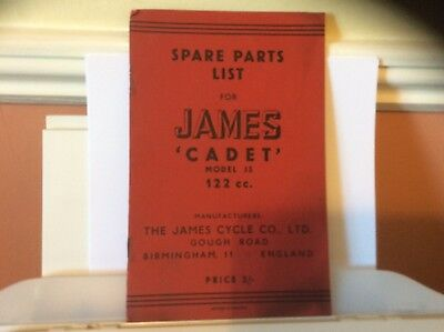 Hi, here we have a Used James Spare Parts For Cadet 122 Cc