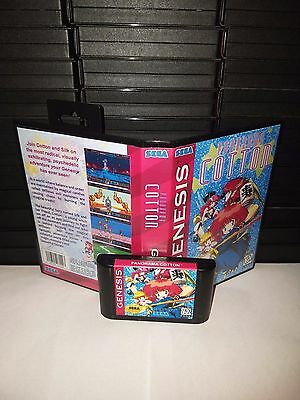 Panorama Cotton Game for Sega Genesis! Cart & Box