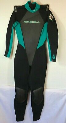 ade7381a61 O Neill REACTOR Full Wetsuit GreenBlack Size 6 Women s ...