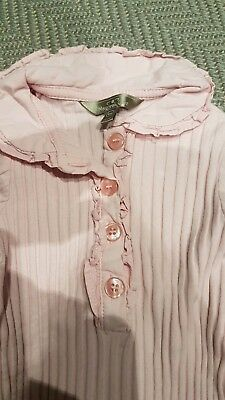 Spanish Romany Mayoral Pale Pink Top Girls Age 9 Months