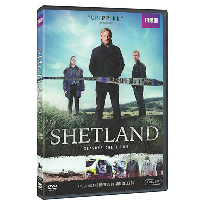 Shetland: Seasons One & Two - All 8 Episodes on 5 DVDs Region 1 (US & Canada)