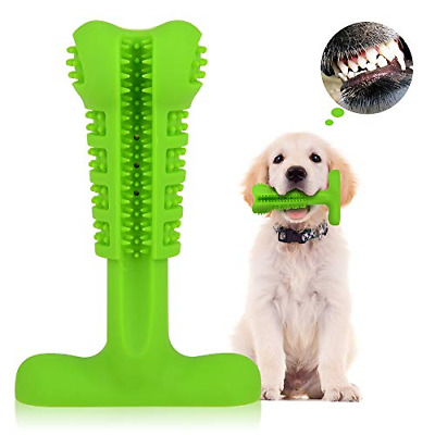TIME4DEALS Dog Toothbrush Doggy Chew Toys Bite Brushing Stick, Dog Teeth for