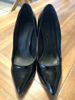 aac2ed3041ad PRADA BLACK PUMPS Classic Kitten Heels Shoes US 9.5 EU 39.5 Leather ...