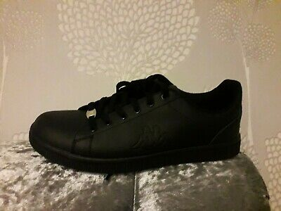 353b34995b572 Kappa Maresas DLX Sneakers Mens Gents Court Laces Fastened Leather Upper