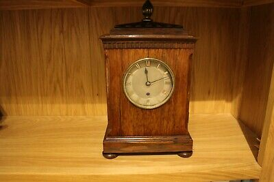 William IV  Rosewood 4 Glass library clock fusee movement silver dial