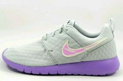the best attitude 36836 17170 $70 GIRLS NIKE ROSHE ONE PURPLE GRAY GS SIZE 6Y mybe fits 5.5Y Unicorn  colors