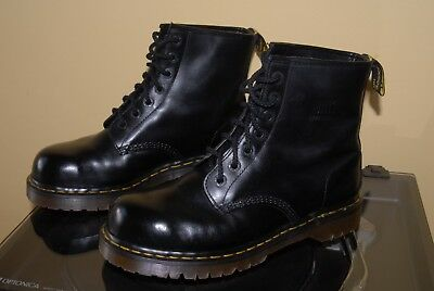 Dr Martens 1460 Made In England Steel Toe Cap Boots Black Size 9 Uk Little Used
