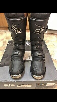 Youth Dirt Bike Boots >> Youth Fox Tracker Junior Dirt Bike Boots Size K2