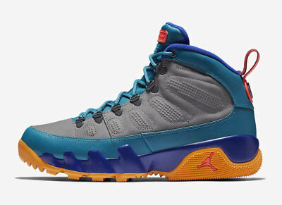 2018 Nike Air Jordan 9 Retro Boot NRG SZ 11 Green Abyss Multicolor  AR4491-300 05de5f3f2