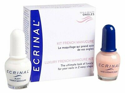 Ecrinal Kit French Manucure Vernis Maquillage 2 X 10 Ml
