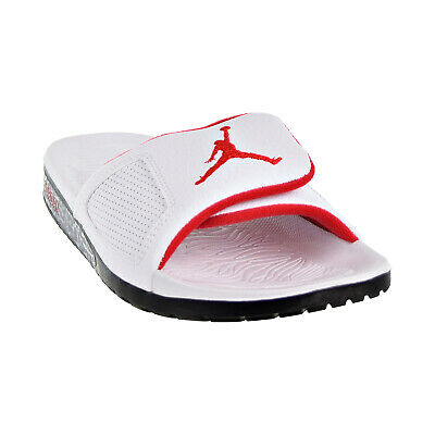 bace5185951200 Jordan Hydro III Retro Men s Slides White University Red Black 854556-103