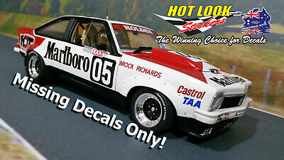 1:18 Vinyl MISSING Decals Brock 1979 Bathurst Winner Classic Carlectables Torana