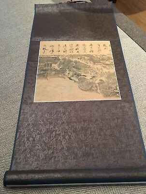 Authentic Chinese Silk Scroll bought In Beijing