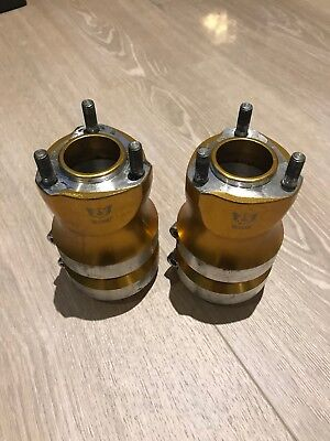 WildKart 120mm long hubs. Stiff. Aluminium  - OTK, Tony Kart, Alonso, X30, Rotax