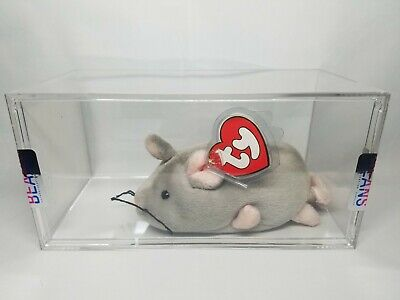 41ef5926a3c Authenticated TBB Ty Beanie Baby Rare Trap the Mouse 3rd 1st Gen Hang Tag!