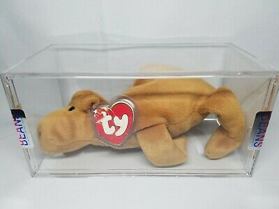 03255a579b3 Authenticated TBB Ty Beanie Baby Rare Humphrey 3rd 1st Gen Hang Tag  Canadian!