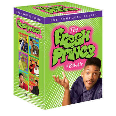 The Fresh Prince of Bel-Air: Seasons 1-6  (DVD, 22-Disc Set) The Complete Series