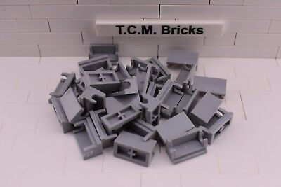 50 Pieces TCM Compatible Bricks Red Brick 2 x 4 with Pins QTY