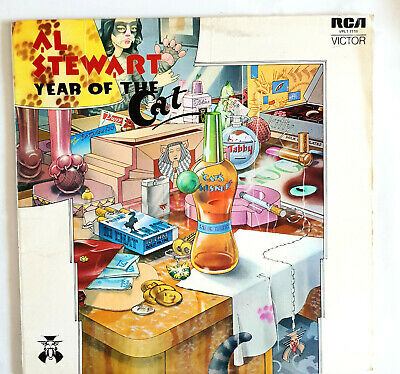 1976 Album AL STEWART - YEAR OF THE CAT LP Record Stereo RCA Victor VPL1-7119