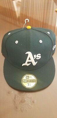 MLB Oakland Athletics A s New ERA Diamond 59Fifty Cap Hat 7 3 4 Cooperstown 5699477d1062