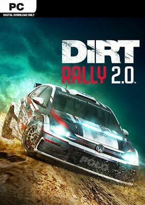 Codemasters DiRT Rally 2.0 PC STEAM GAME Digital Download Code (no disc)