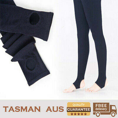 Tasman Aus -Merino wool compressive Leggings,high elasticity, Navy Colour