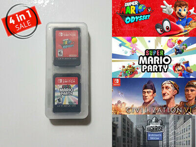 Nintendo Switch - Mario Odyssey, Mario Party, Civilization 6, Project Highrise