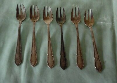 6 Stainless Steel Buffet Forks : Vintage Wiltshire