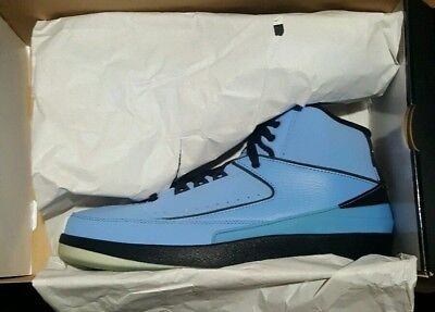 f302c436012d Nike Air Jordan II 2 Retro QF Candy Pack 2010 University Light Blue Black Men  10