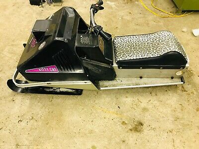 1972 ARCTIC CAT Kitty Kat Kids Snowmobile Excellent runner TIME MACHINE!!!!!