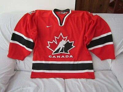 Canada Ice Hockey Nike Jersey Size Large