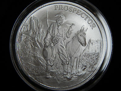 PROVIDENT PROSPECTOR 1 Oz .999 Fine Silver Round NEW Mint Tube to Capsule